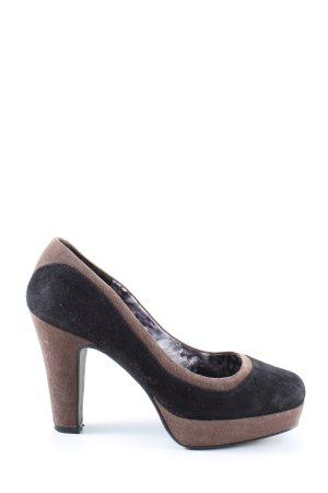 Next High Heels schwarz-grün Casual-Look