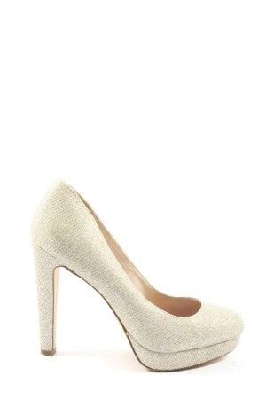 Next High Heels wollweiß Elegant