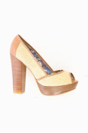 next High Heels Größe 38 neuwertig braun