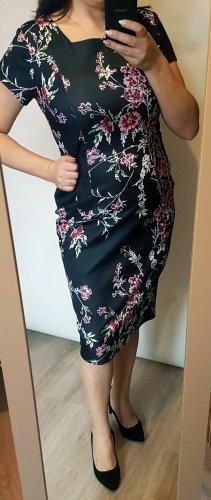 next IZABEL London Kleid geblümt schwarz 40