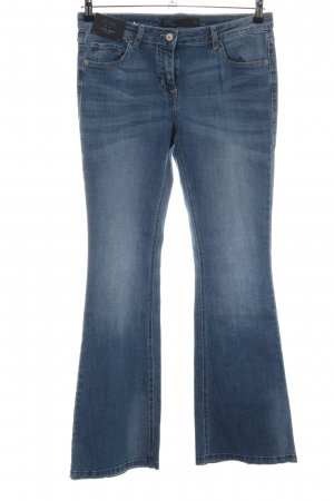 Next Jeansschlaghose blau Casual-Look