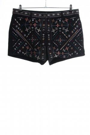 Next Jeansshorts Allover-Druck Casual-Look
