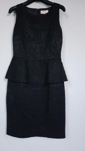 Next Vestido peplum negro