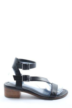 Next Komfort-Sandalen schwarz Casual-Look
