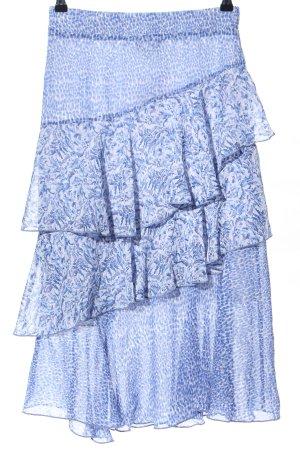 Next Midirock blau abstraktes Muster Casual-Look