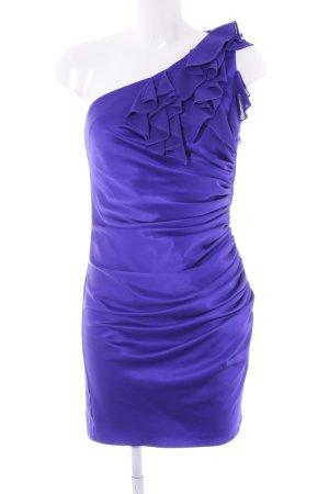Next One-Shoulder-Kleid dunkelviolett Party-Look
