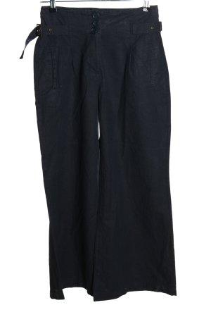 Next Petite Pantalon en lin noir style décontracté