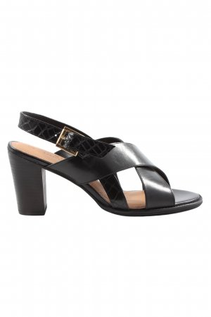 Next Platform High-Heeled Sandal black casual look