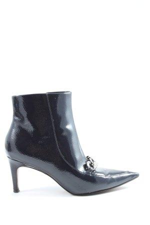Next Reißverschluss-Stiefeletten schwarz Elegant
