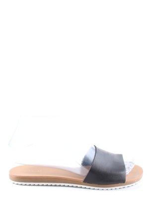 Next Riemchen-Sandalen schwarz Casual-Look