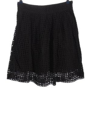 Next Koronkowa spódnica czarny W stylu casual