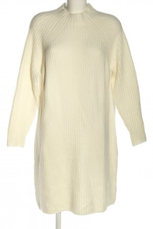 Next Knitted Dress white casual look