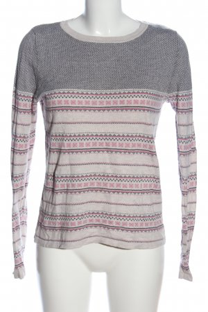 Next Strickpullover grafisches Muster Casual-Look