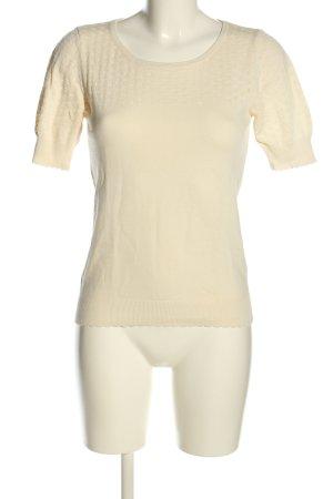 Next T-shirts en mailles tricotées blanc cassé style décontracté