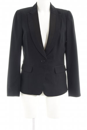 Next Sweatblazer schwarz-dunkelgrau Karomuster Business-Look