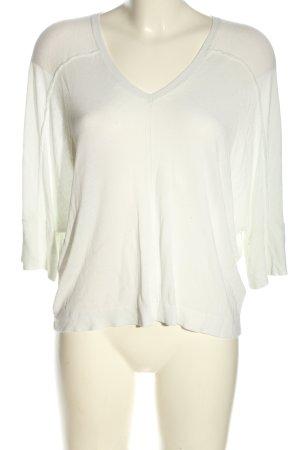 Next V-Ausschnitt-Shirt weiß Casual-Look