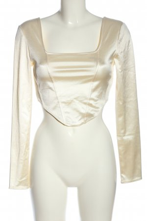 H&M Divided Cropped Shirt creme Casual-Look