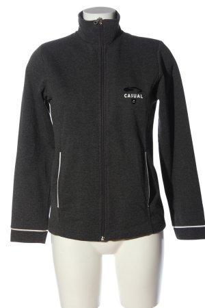 NGS authentic gear Sweatshirt schwarz meliert Casual-Look