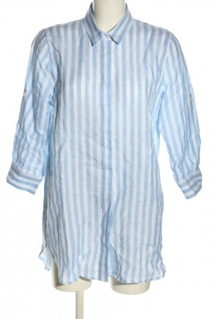 NH made in Europe Shirtwaist dress blue-white striped pattern casual look