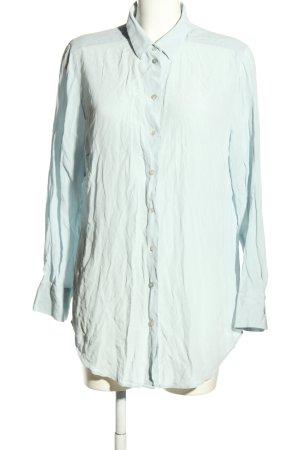 NH Nadine H Langarm-Bluse blau Business-Look