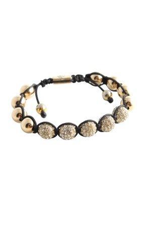 Nialaya Armband goldfarben-schwarz Elegant