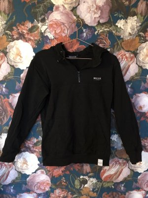 Nicce London Hooded Sweatshirt black-white