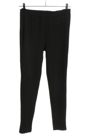 Nice & Chic Vastgebonden broek zwart zakelijke stijl