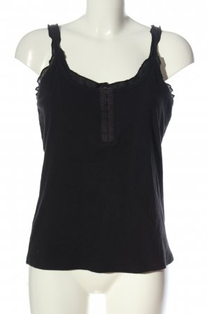 Nice Connection Camisole zwart casual uitstraling