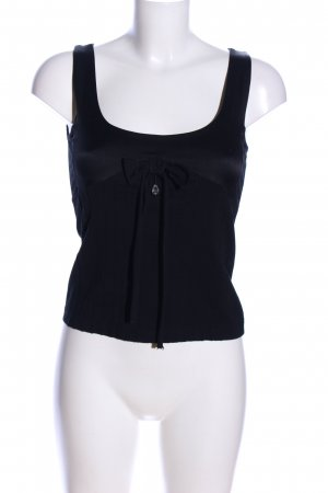 Nice Connection Corsage Top black casual look