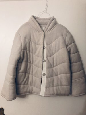 NC nice connections Wool Jacket light grey-natural white cashmere