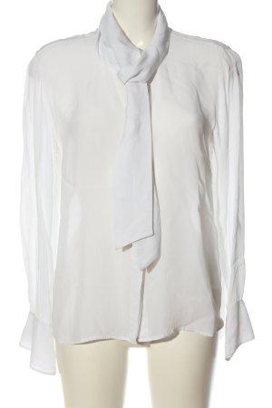 Nice Connection Camicia a maniche lunghe bianco stile casual