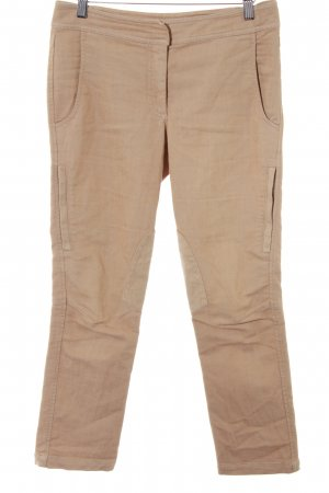 Nice Connection Skinny Jeans beige Lederelemente