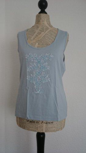 Nice Connetion Shirt mit Perlenstickerei, Größe 42, NP 40 €