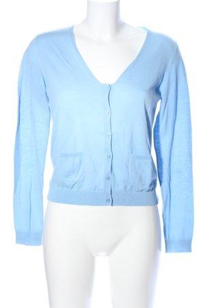 Nice Things Cardigan blau Casual-Look