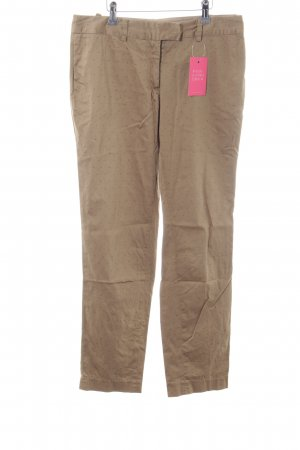 Nice Things Chinohose nude-rot Allover-Druck Casual-Look