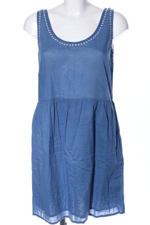 Nice Things Trägerkleid blau Casual-Look