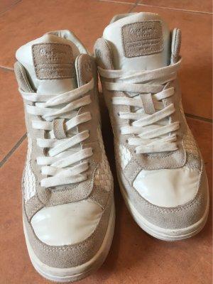 Pepe Jeans London Zapatilla brogue blanco-gris claro