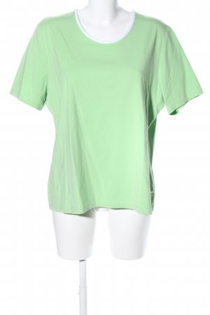 niceconnection T-Shirt grün-weiß Casual-Look