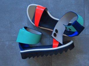 Nicholas Kirkwood Beach Sandals multicolored leather