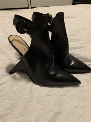 Nicholas Kirkwood Botas de tobillo blanco-negro