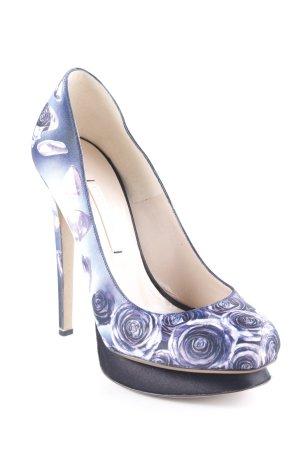 Nicholas Kirkwood High Heels Blumenmuster Elegant