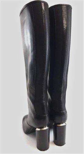Nicholas Kirkwood Stiefel Leder Gr. 40 TOP NP 800,-€ Schaft 18 cm