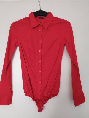 Nicht getragen Bodie-Bluse im leuchtenden rot