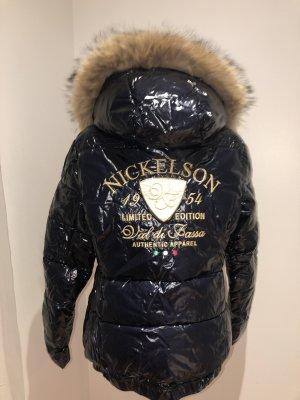 Nickelson Daunen Jacke mit echtem Fell