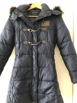 Nickelson Quilted Coat dark blue