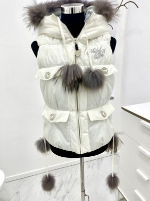 Nickelson Hooded Vest white