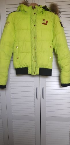 Nickelson Giacca invernale giallo lime-verde prato