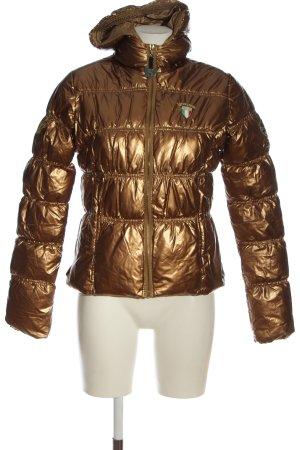 Nickelson Giacca invernale bronzo motivo trapuntato stile casual