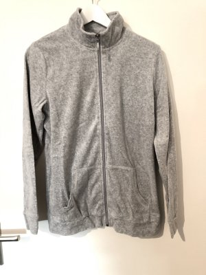 Nicki Hausanzug Zip Pullover inkl Hose Gr. M 40/42 grau