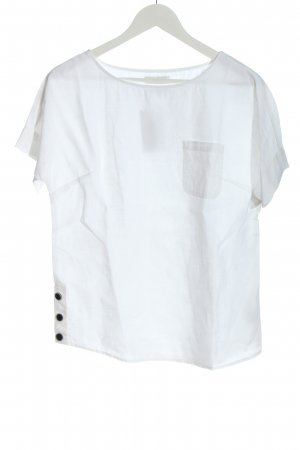 Nicole Farhi Linen Blouse white casual look